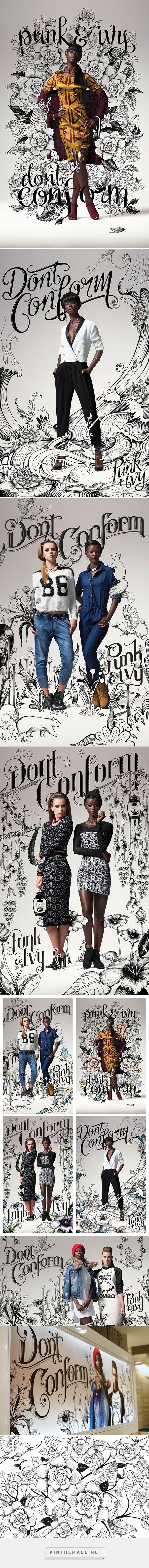 advertising set | LEGiT Don't Conform Campaign on SCAD Portfolios - Dani Loureiro
