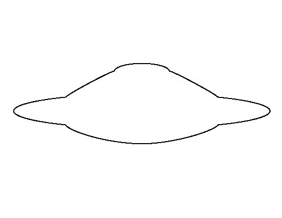Flying saucer coloring pages for Flying saucer coloring page