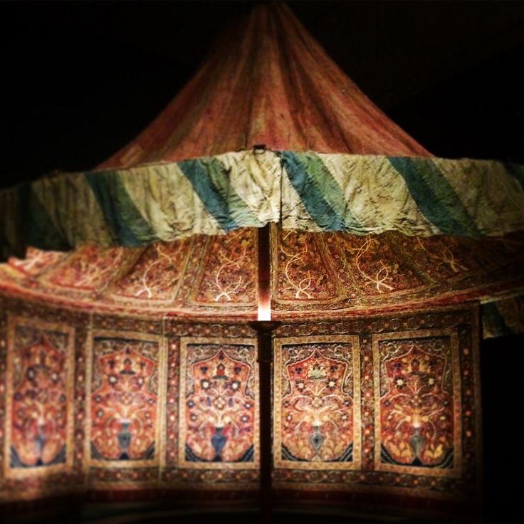 Muhammad Shah's Royal Persian Tent. photo credit: Maryann Wohlwend