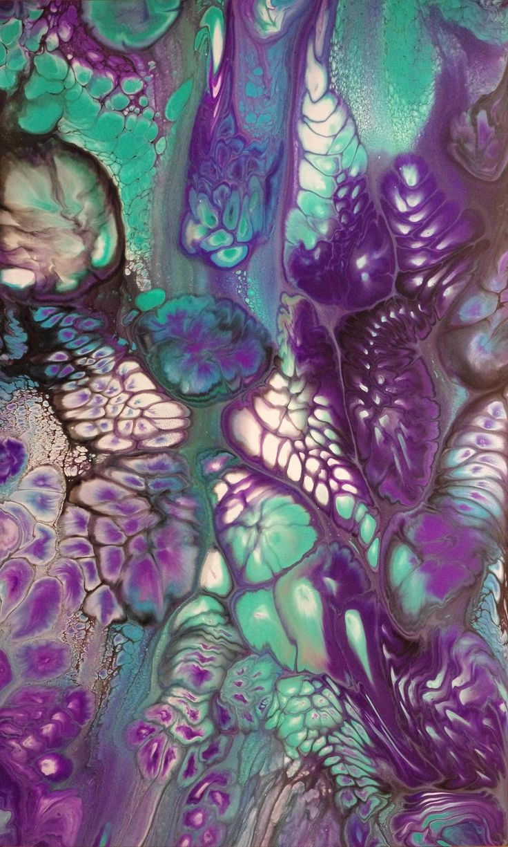 Acrylic Pouring | Fluid and/or Resin Painting | Acrylic ...