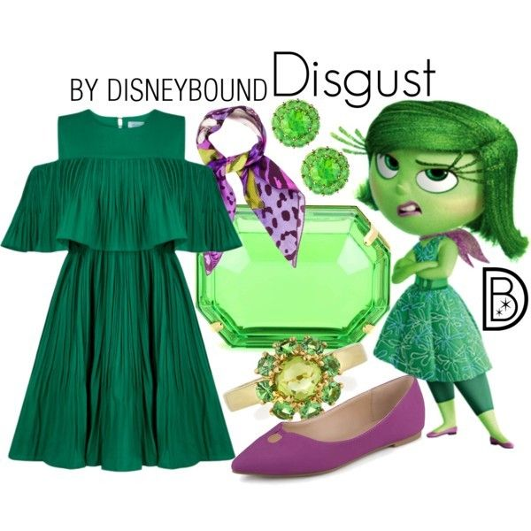 Disney Bound - Disgust