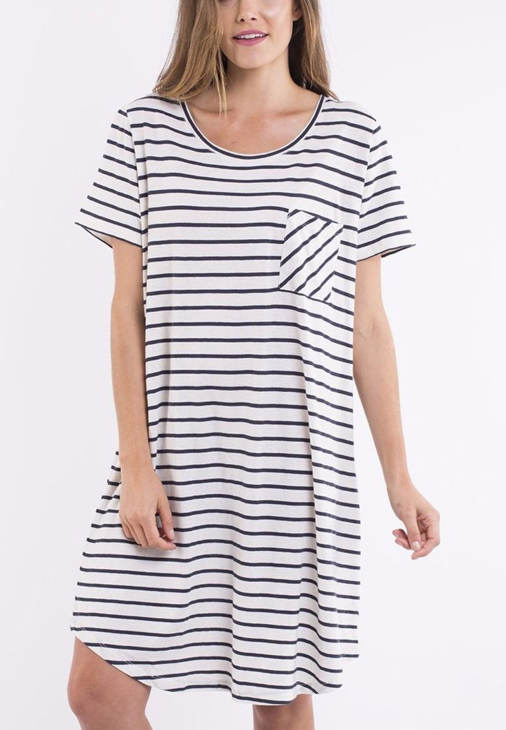 elm - Betsy Dress In Stripe