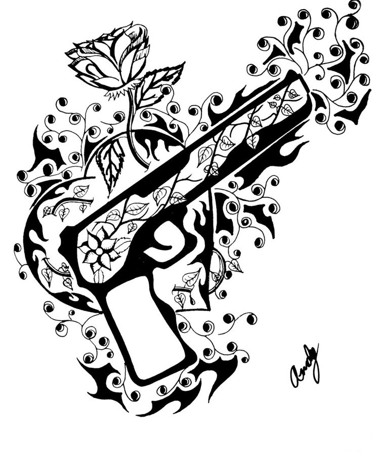 Skull And Guns Unfinished By Ifinch On Deviantart: 31 Best Guns N' Roses Art Images On Pinterest