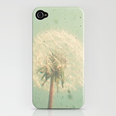 Dandelion iPhone case!! Ahhh love!!