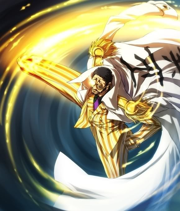 Kizaru light speed kick
