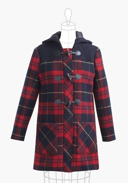 pattern to make a Duffle Coat