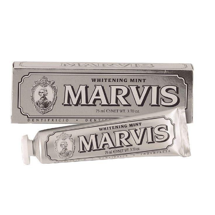 """Marvis Dentífrico Especial Blanqueador de Menta, <span class=""""price"""">11,00 €</span> #BirchboxES"""