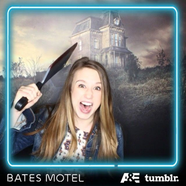 I just had to stay at my sister's at #sxsw this year. Go check it out (or check-in... ah hah hah)! #BatesMotel #familylove