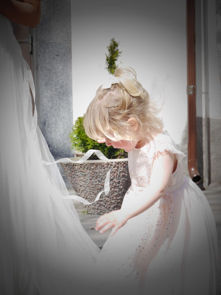 The little bridesmaid