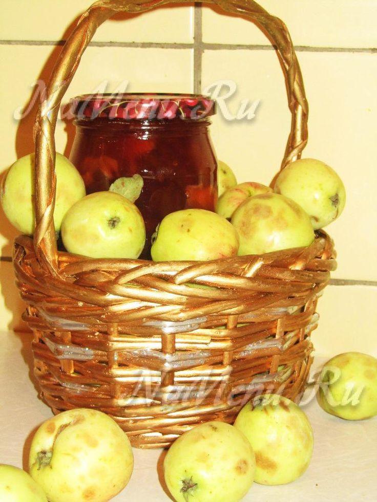 Вкусное яблочное варенье на зиму