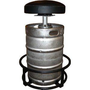Man cave: The Keg Stool Kit - Turn a Keg Shell into a Bar Stool