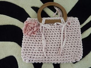 TUTORIAL BORSA IN FETTUCCIA per i negati dell'uncinetto e non solo. CROCHET BAGS FREE PATTERNS