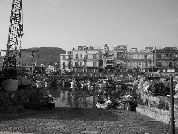 Pozzuoli port, Naples, Italy.
