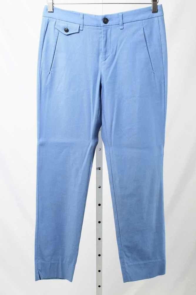 Rag & Bone Size 6 Blue Cotton Blend Skinny Pants 2964 ST417    eBay