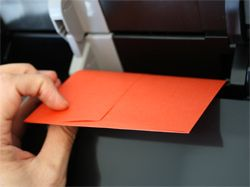How To Print An Address On Envelopes...will come in handy for Christmas cards