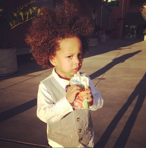 Tia Mowry's Son Cree is a Natural Hair Idol in the Making