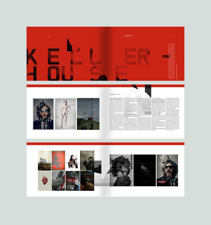 Neil Kellerhouse feature #editorialdesign #layout #typography #monsterchildren #printdesign