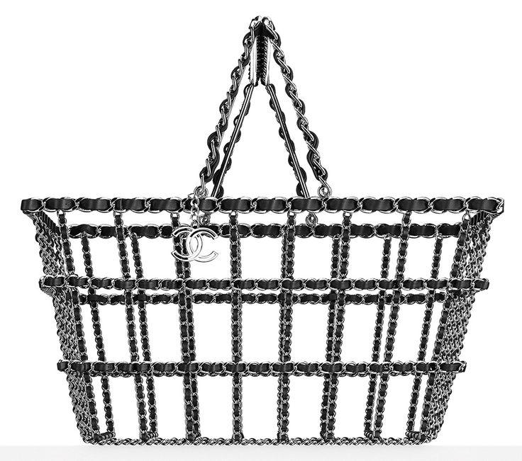 Basket Interlaced with Calfskin, £7190, Chanel