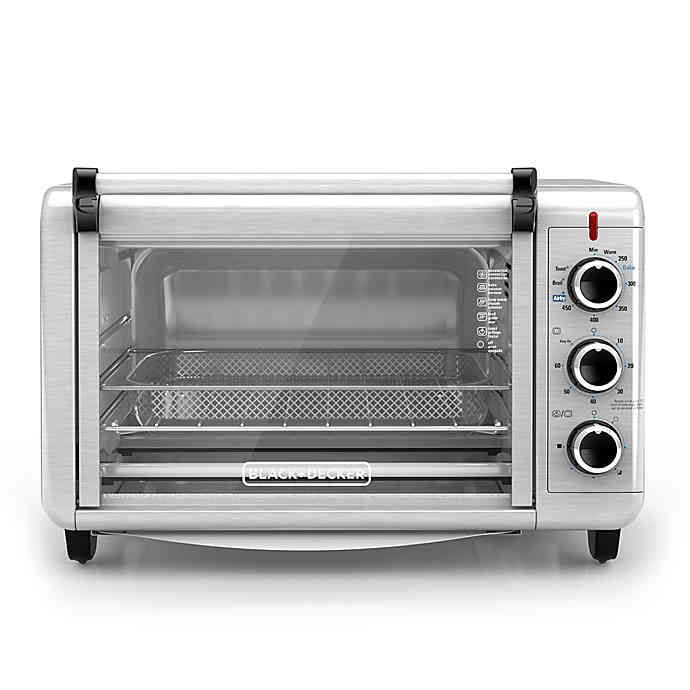 Black Decker Crisp N Bake Air Fry Toaster Oven Convection