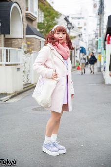 Pastel Harajuku Fashion w/ Nile Perch, Bubbles & American Apparel (Tokyo Fashion News)