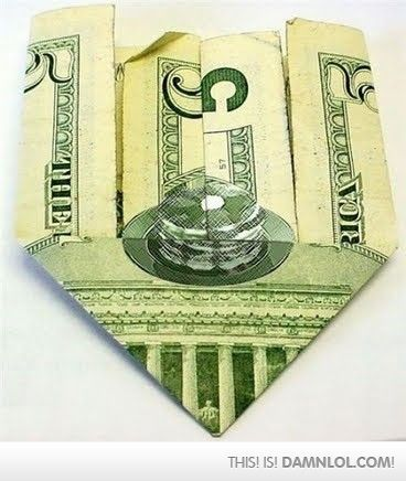 A Hidden Stack Of Pancakes In A Five Dollar  BillHidden Pancakes, Laugh, Stuff, Awesome, Mindfulness Blown, Dollar Bill, Random, Funny, Things