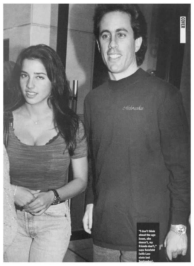 Remember When 39-Year-Old Jerry Seinfeld Dated a 17-Year-Old?
