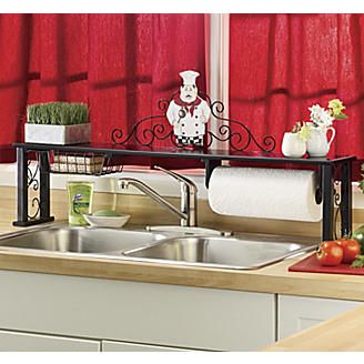 Chef Over The Sink Shelf Chefs Fat Chef Kitchen Decor