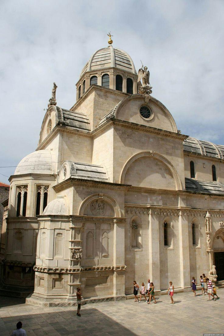 Zona absidale della Cattedrale di Sebenico