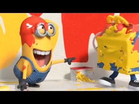 Paint war & Fart tricks - Minions Funny video HD