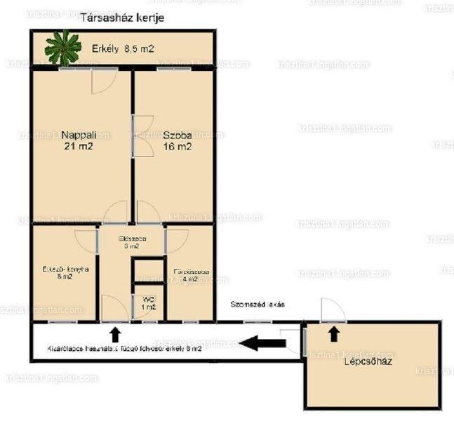 II. kerületben, Hűvösvölgyi úton eladó egy I. emeleti nettó 53 m2-es, dupla erkélyes lakás. A Hűvösvölgyi ú
