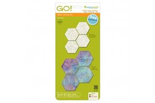 """GO! English Paper Piecing Hexagon-1"""" Finished Sides"""