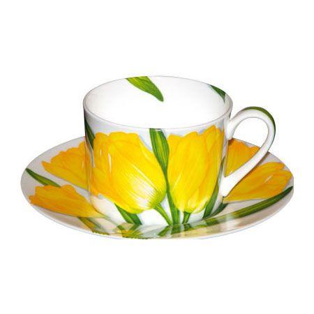 Taitù Milano - 'Freedom' Collection - Teacup/Saucer / Tazza da tè con piattino