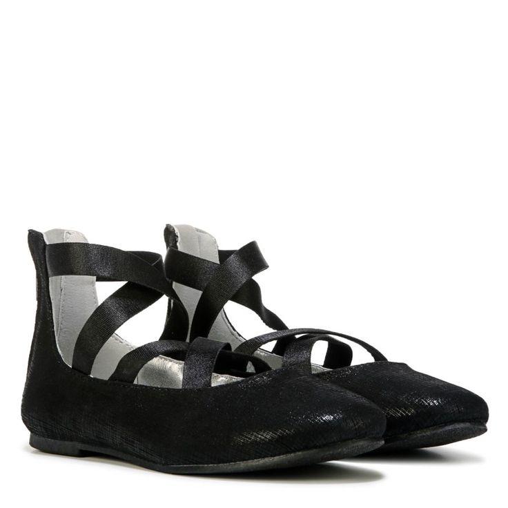 Nine West Kids Kids' Feliciah Flat Pre/Grade School Shoes (Black)