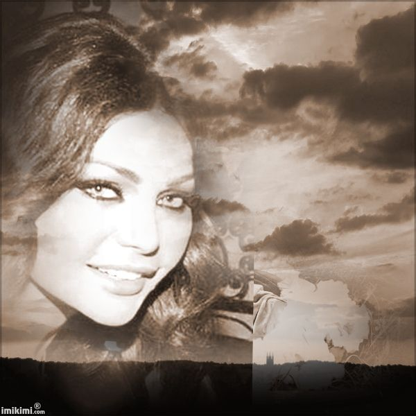 Jms-My Girl In Sepia Sunset