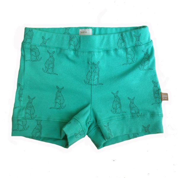 lötiekids- Turquoise Short with cangoos