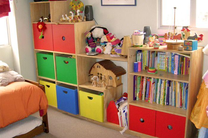 Mueble Escalera Colores