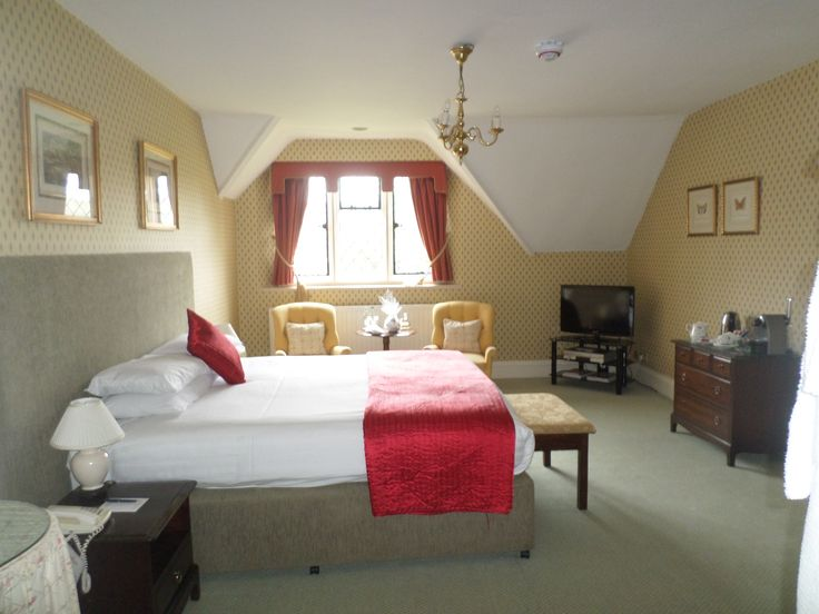 Sir John Pennefather suite at Eastwell Manor