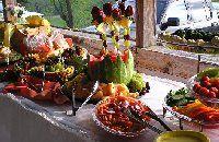 Photo Gallery - Photo of Luau Wedding Reception Food