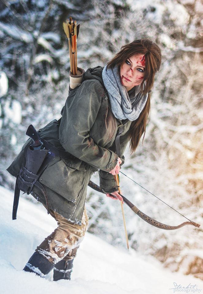 Rise of the Tomb Raider Cosplay  Cosplayer: Santatory  Photography: Starbit Photography & Ookami