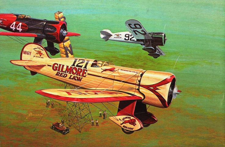 Wedell-Williams Racer by John Amendola