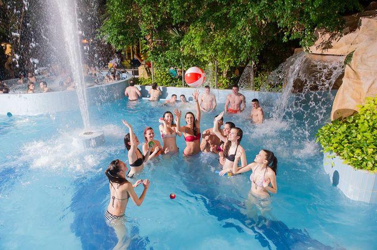 Képriportban mutatjuk az ország tíz legszebb medencéjét! | Gyógyvizek.hu - Magyarország Gyógy- és Strandfürdői egy helyen!Aquaticum Mediterrán Élményfürdő - Debrecen:
