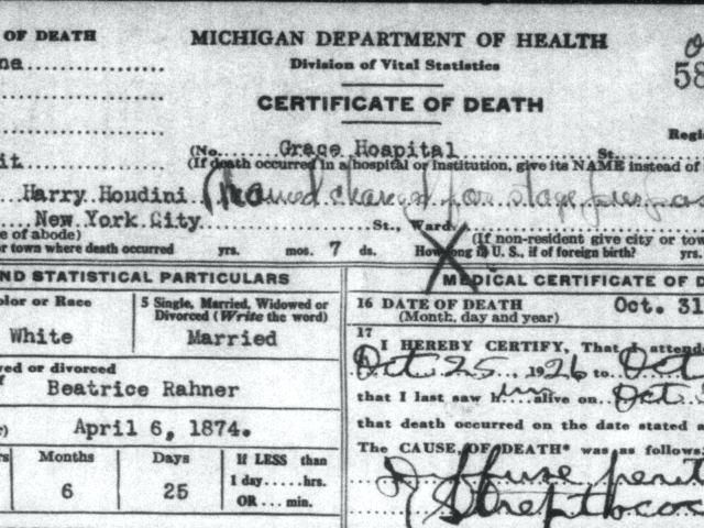 Birth, Death, Marriage and Divorce Records