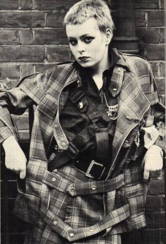 . Tracie O'Keefe - SEDITIONARIES clothing designed by Vivienne Westwood & Malcolm McLaren
