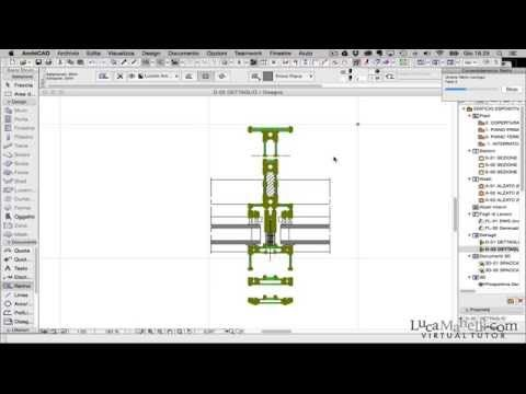 ArchiCAD importare PDF - YouTube