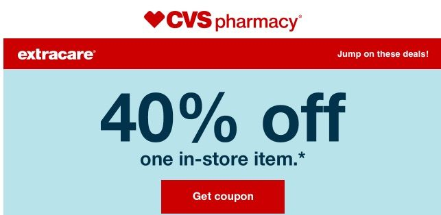 Cvs Drugstore Gives You 30 Off In Store Each Weekend Cvs