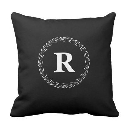 Initial Pillows - home gifts ideas decor special unique custom individual customized individualized