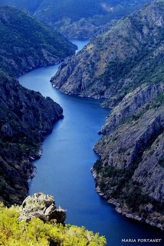 Ribeira Sacra. Rio Sil, Lugo, Galicia