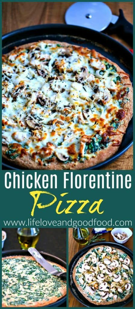 Chicken Florentine Pizza | Life, Love, and Good Food