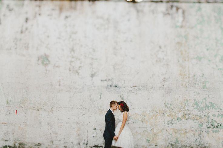Nick and Kim. Wedding at Abbotsford Convent.