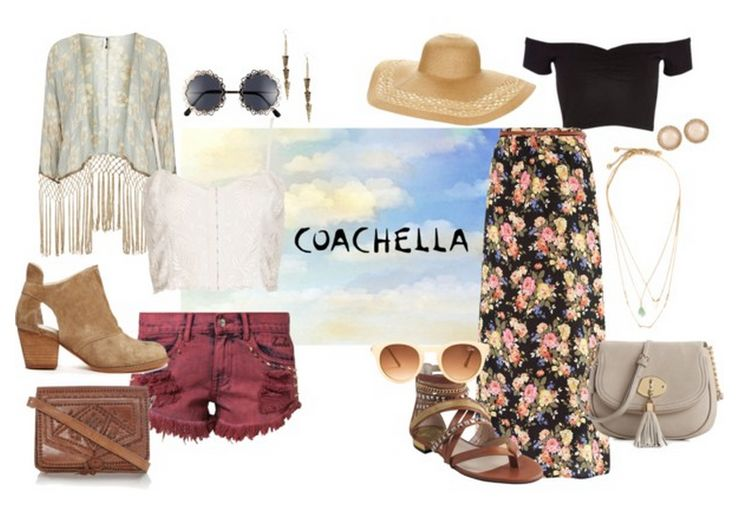Do you want a perfect Coachella style outfit? Read on for more on: http://www.bluorange.it/en/not-only-beauty/coachella-music-festival-the-trendiest-spring-summer-music-festival #bluorange #hair #coachella #coachellastyle #groundstyle #outfit #notonlybeauty #blog